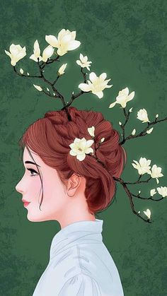 Find images and videos about girl, art and flower on We Heart It - the app to get lost in what you love. Girl Illustration Art, Illustrations, Posca Art, Tumblr Art, Girly Drawings, Applis Photo, Poster S, Digital Art Girl, Art Pop