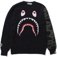 Bape Shark Knitted