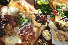 #KitchenRevelry   Charcuterie plate...I could live on this.