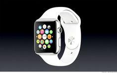 Un reloj de manzana es muy popular ahora mismo. Un reloj actúa como el telefono móvil pero es un reloj en tu muñeca.