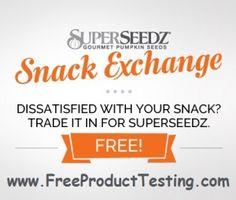Free Gourmet Pumpkin Seeds Sample