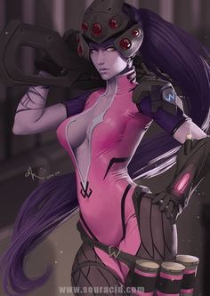 Widowmaker by SourAcid on DeviantArt