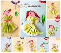 We Got Mail: Martenitsas Craft Activities For Kids, Diy Crafts For Kids, Arts And Crafts, Paper Crafts, Baba Marta, Art Lessons For Kids, Mothers Day Crafts, Clothes Crafts, Diy Christmas Ornaments