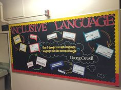 Inclusive Language Diversity Bulletin Board