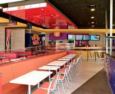 Cafeterías y restaurantes - Scanform Y Food, Food Court, Living Spaces, Conference Room, Furniture, Home Decor, Restaurants, Blue Prints, Decoration Home