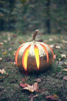 Foto bonita calabaza Halloween
