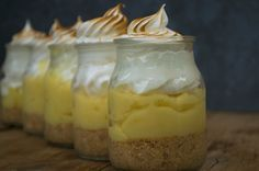 Lemon pie en frascos