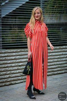 Ece Sukan and Kate Foley Street Style 2017, Street Chic, Street Style Women, Only Fashion, Love Fashion, Style Fashion, Campaign Fashion, Style Snaps, Colourful Outfits