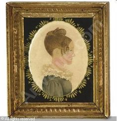 portraits | Attributed to PORTER Rufus,Portrait of Clarissa Allen Cooley,Christie ...