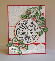 Heartfelt Creations | Wonderful Christmas Card