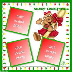 ANIMATED CHRISTMAS LIGHTS & GINGERBREAD GIRL PICTURE FRAMES Christmas Frames, Christmas Ornaments, Animated Christmas Lights, Girl Pictures, Picture Frames, Gingerbread, Merry, Animation, Holiday Decor