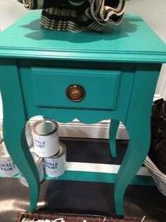 This may be the color for my new DIY project. Annie Sloan's Paint in Florence