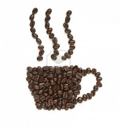 """The quote, """"The whole is different from the sum of its parts"""" is an element of the Gestalt Theory. This image shows coffee beans combining to make a coffee mug. Coffee Beans, Coffee Cups, Image Shows, Dog Food Recipes, Theory, Quote, Shapes, Mugs, How To Make"""