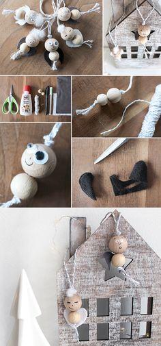 DIY - Engel für den Weihnachtsbaum   Gingered Things