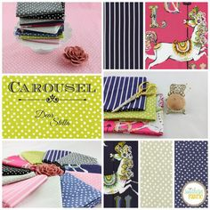 New Arrival: Carousel by Dear Stella  http://www.southernfabric.com/carousel-collection