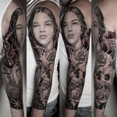 ca55b0c6f ALO LOCO TATTOO | Black and Grey, Realism, Portraits and Full Sleeves  Tattoos