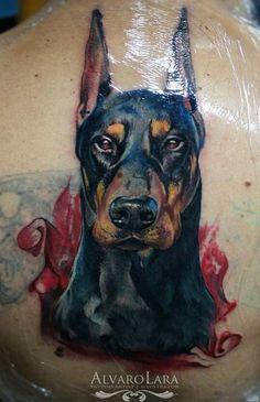 Breathtaking Doberman Tattoo