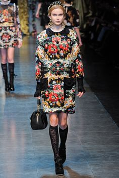 Dolce & Gabbana - Fall 2012 Ready-to-Wear - Look 64 of 74