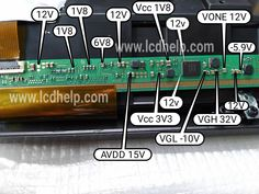 Lcd lvds is voltage data Basic Electronic Circuits, Electronic Circuit Projects, Electronic Schematics, Sony Lcd Tv, Sony Led, Electronics Basics, Electronics Projects, Computer Diy, Electrical Circuit Diagram
