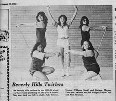 South Belt Houston Digital History Archive: August 20, 1980 Beverly Hills Twirlers