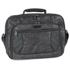 """Kenneth Cole Reaction Trax 17"""" Laptop Briefcase by Kenneth Cole Reaction - Black Kenneth Cole REACTION http://www.amazon.com/dp/B00B771XJW/ref=cm_sw_r_pi_dp_o1r-tb1ZHXP39"""