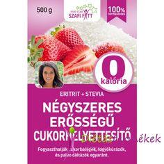 Szafi Fitt Paleo négyszeres erősségű természetes édesítő (negyedannyi 1:4) 500g