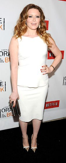 Natasha Lyonne--I rediscovered her on the show Orange Is The New Black.