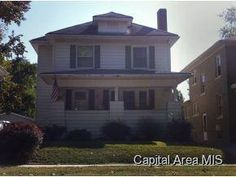 628 Vine, Springfield, IL.  Springfield, IL real estate for sale.