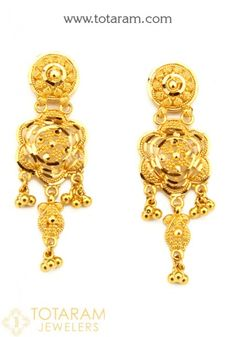 Gold Earrings for Women | Indian gold jewelry, Gold ...