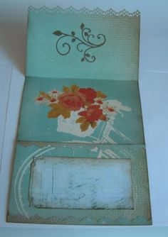 simple 3 fold card by Jannette Winstone
