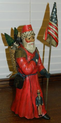 Old World Santa: American Civil War Soldier (2823/5000) | Midwest Imports, $80.00 #LimitedEdition #Christmas