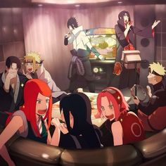 I don't even know what's going on in this. XD  All I know is that Naruto is being an honorable best friend, as always, playing tambourine for Sasuke.