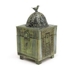 'Spring Interlude' Dream Box by Catherine Brennon