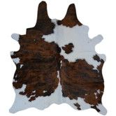 Found it at Wayfair - Natural Cowhide Brown & White Area Rug