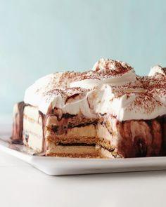 Me Encanta el Chocolate: Fudgy Ice Cream Cake