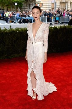 Pin for Later: See 100+ Insanely Gorgeous Looks From Met Galas Past Rooney Mara The event's co-host turned up in Givenchy Haute Couture (designed by fellow co-host Riccardo Tisci) at the 2013 Met Gala.