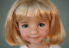 "Dianna Effner's Little Darling #3 ""Evie"" Rare Exquisite Vinyl Doll NIB"