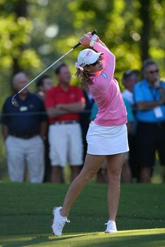 The Pink Panther has her own Paula Creamer Collection of Signature Series sunglasses with Sundog (sundogeyewear.com), as well as her own Adidas golf shoe design, the Signature Paula 2.0, which can be found at adidasgolf.com.
