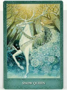 Mystic Sisters Oracle Deck Pictures - Google Search Deck Pictures, Snow Queen, Oracle Cards, In The Tree, Mystic, Sisters, Tower, Birds, Artwork