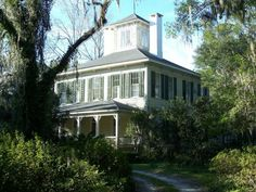 The historic John Denham house in Monticello, Florida, was built in 1872.  It is now a bed and breakfast inn.