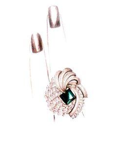 diamond ring.