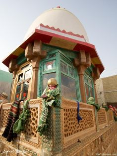 Canopy of Mian Nasir Muhammad Kalhoro, Sindh, Pakistan