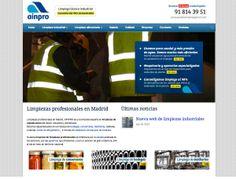 Ainpro Servicios http://www.ainproservicios.com/ #web #Madrid