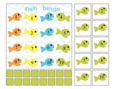 fish splashy bingo
