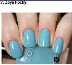 "☆ Pinterest: KCharm96 ☆    Loveee this color! ""Zoya Rocky"""