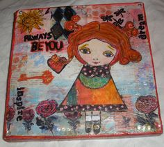 Project using a Suzi Blu stamp from class at Everything Scrapbook and Stamps.