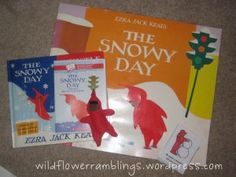 """Many activities to go along with """"The snowy day"""" book"""