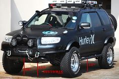 proper lifted Forester!