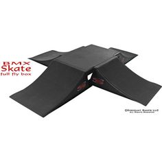 Full Fly Box Skateboard Ramps