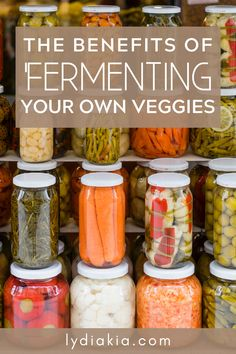 Why Should You Try Fermenting Your Own Veggies? Healthy Eating Tips, Healthy Eating Recipes, Healthy Drinks, Real Food Recipes, Probiotic Foods, Benefits Of Fermented Foods, Health Benefits, Fermentation Recipes, Canning Recipes
